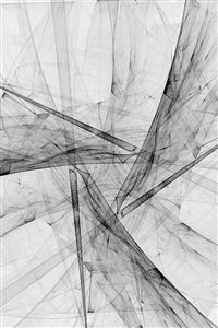 Triangle Art Abstract Bw White Pattern iPhone 4s wallpaper