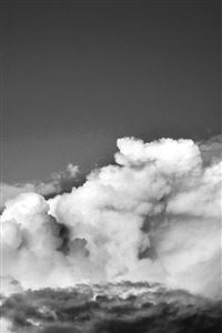 Sky Cloud Summer Blue Sunny Shiny Nature Bw Dark iPhone 4s wallpaper
