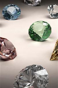 Stones Crystal Jewels Diamonds iPhone 4s wallpaper