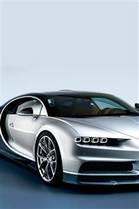 Bugatti Chiron Luxury Car iPhone 4s wallpaper