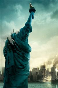 Statue of Liberty Destruction iPhone 4s wallpaper