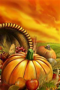 Halloween Pumpkins iPhone 4s wallpaper