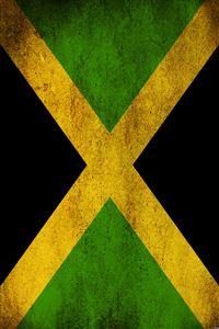 Jamaican Flag iPhone 4s wallpaper
