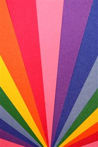Rainbow light pattern iPhone wallpaper
