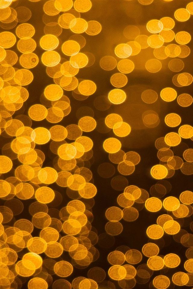bokeh light night iPhone 4s wallpaper
