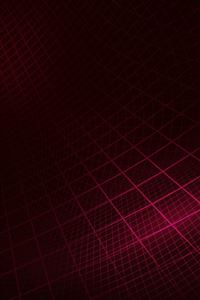 Abstract line digital red pattern iPhone 4s wallpaper