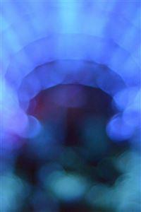 Bokeh light blue pattern background iPhone 4s wallpaper