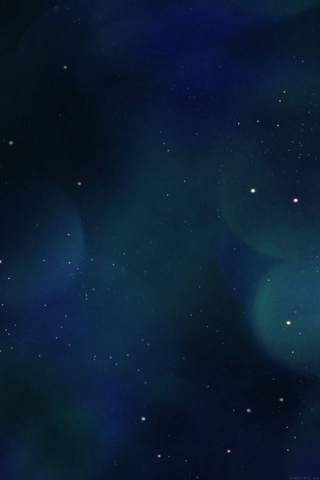 Space blue flare art iPhone 4s wallpaper