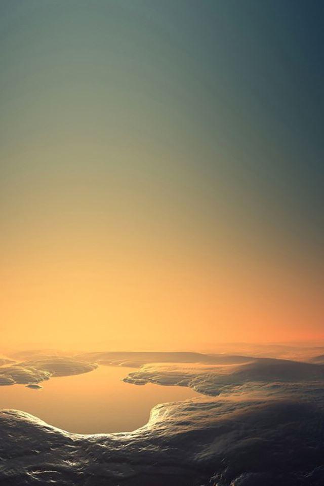 Lakes iPhone 4s wallpaper