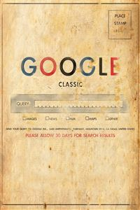 Google Classic iPhone 4s wallpaper