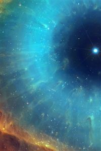 Art space nebula star energy iPhone 4s wallpaper