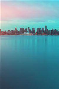 Lake city green flare iPhone 4s wallpaper