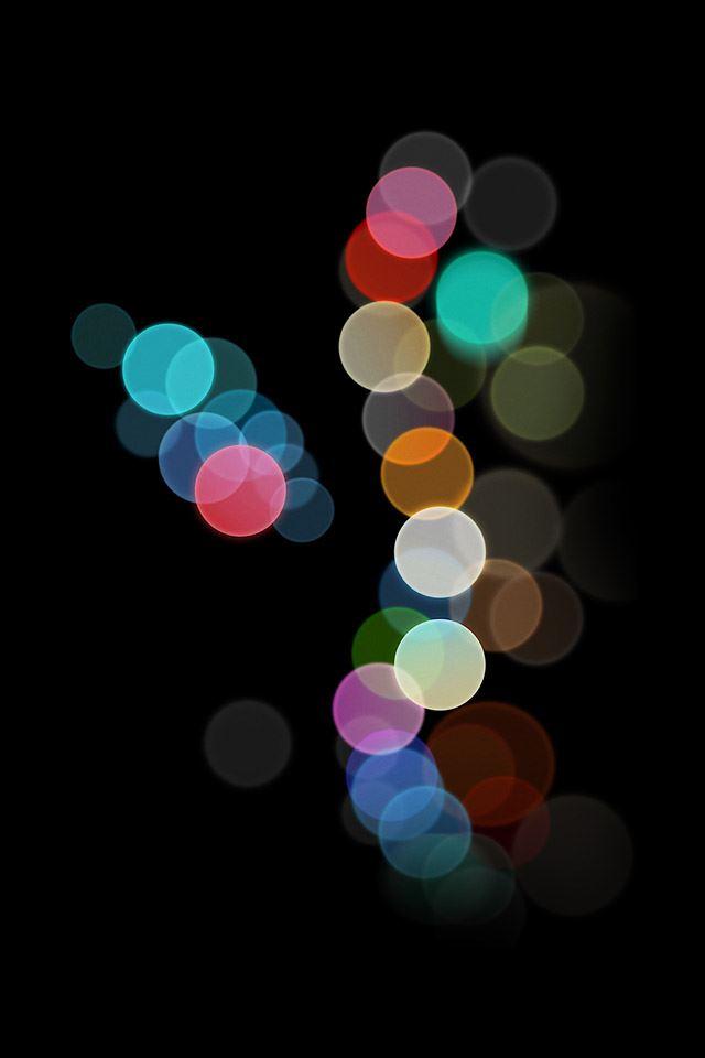 Abstract rainbow light iPhone 4s wallpaper