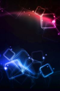 Red blue dark pattern light iPhone 4s wallpaper