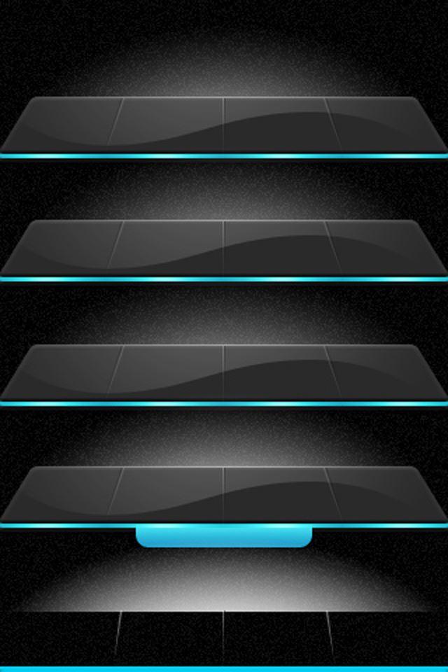 Glass Shelf iPhone 4s wallpaper