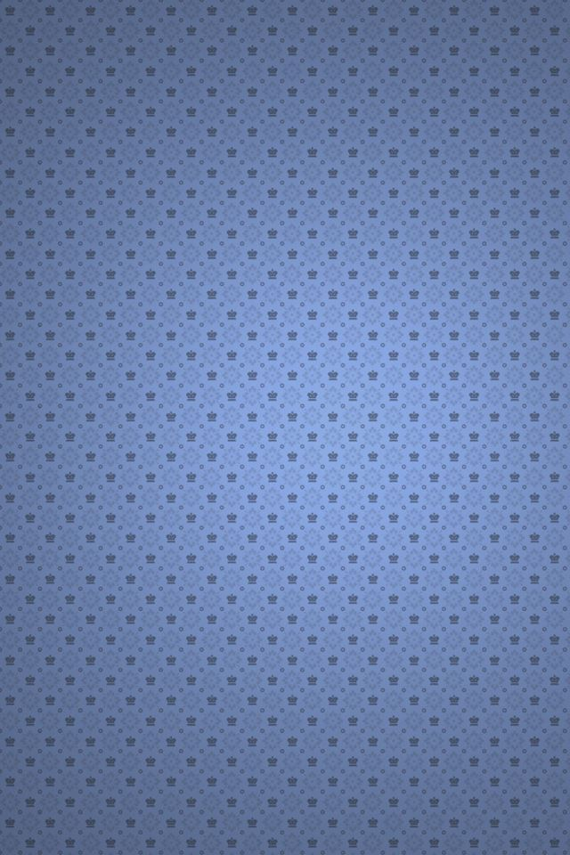 Plain Perforated Blue IPhone 4s Wallpaper