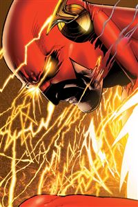Flash Man iPhone wallpaper