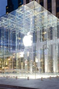 Apple Store New York iPhone wallpaper