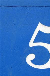 Five On Wall iPhone wallpaper