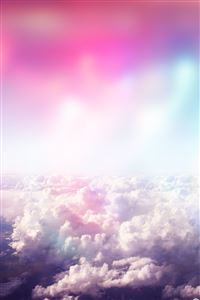 Above Dreamy Clouds iPhone wallpaper