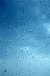 Rain Drops iPhone 4s wallpaper