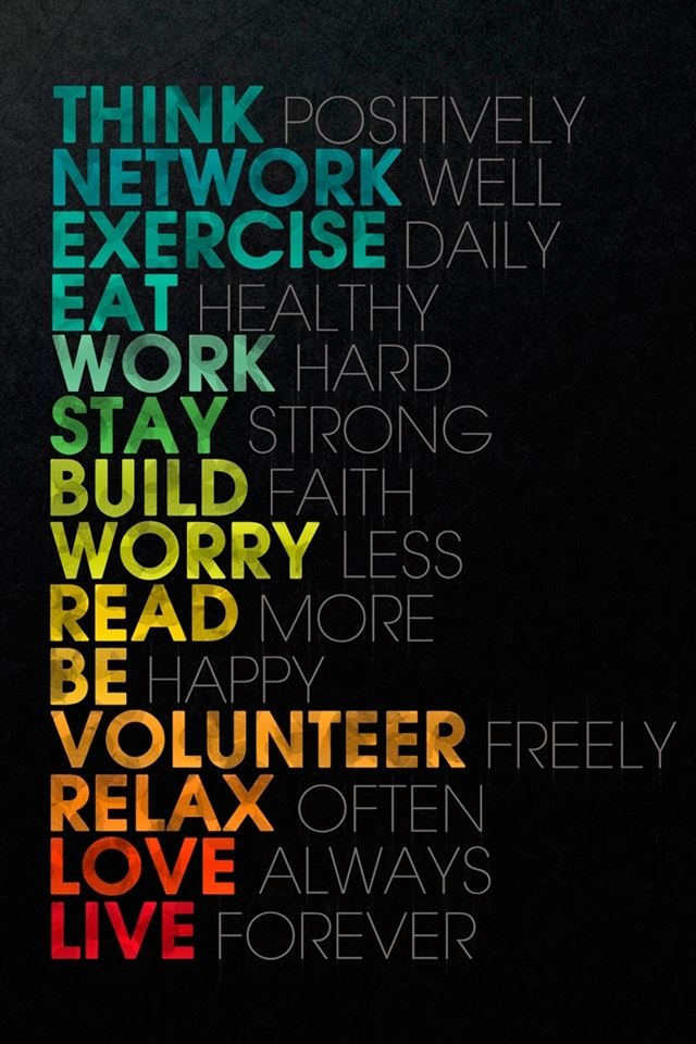 Think Positively IPhone 4s Wallpaper