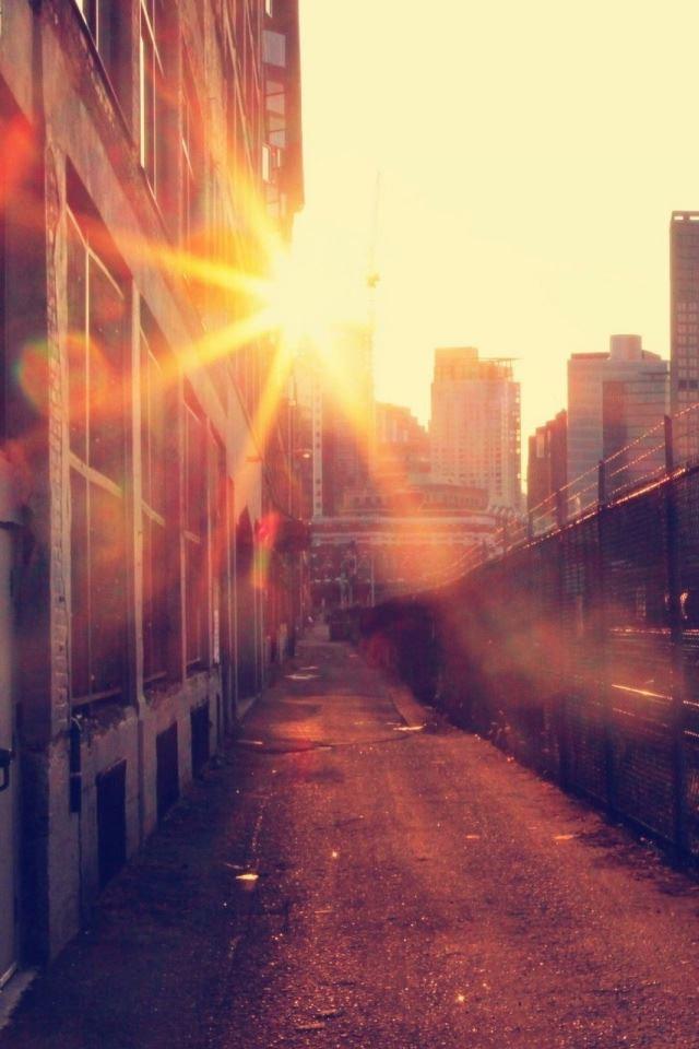 City Railway iPhone 4s wallpaper