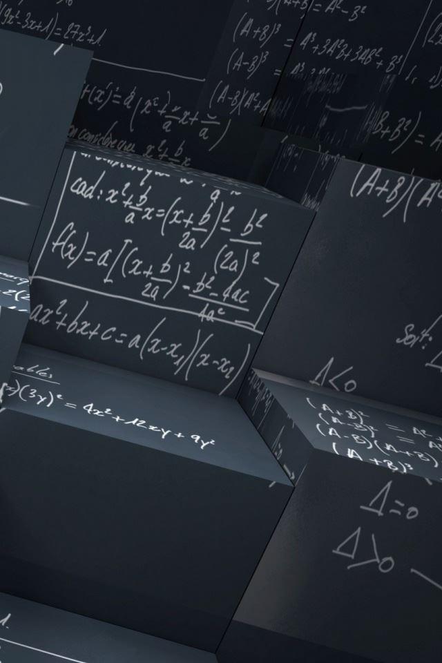 Math Equations iPhone 4s wallpaper
