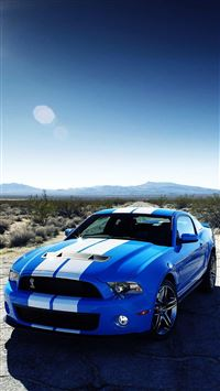 Speed Ford Car iPhone 8 wallpaper