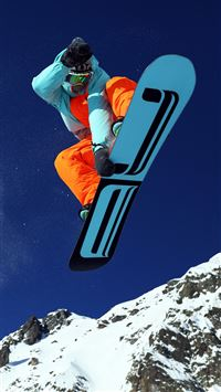 Mountain Skiing iPhone 8 wallpaper