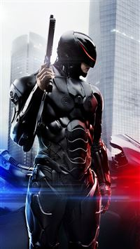 Robocop 2014 Poster iPhone 8 wallpaper