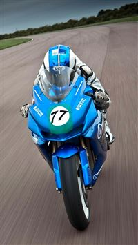Speed Moto Race iPhone 8 wallpaper