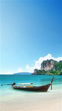 Beach Corner from Paradise iPhone 6(s)~8(s) wallpaper