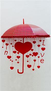 Umbrella of Love iPhone 6(s)~8(s) wallpaper