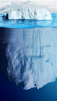 Beautiful Iceberg iPhone 6(s)~8(s) wallpaper