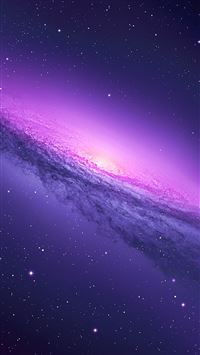 Purple Galaxy iPhone 8 wallpaper