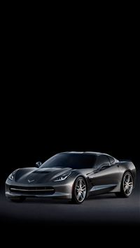 C7 Corvette Stingray Side iPhone 8 wallpaper