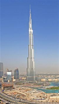 Burj Dubai Tower iPhone 8 wallpaper