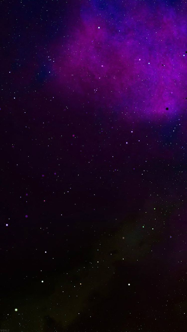 FFrontier Galaxy Space Colorful Star Nebula iPhone 8 wallpaper