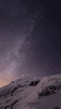 Fantasy Outer Space Shiny Milky Skyscape iPhone 6(s)~8(s) wallpaper