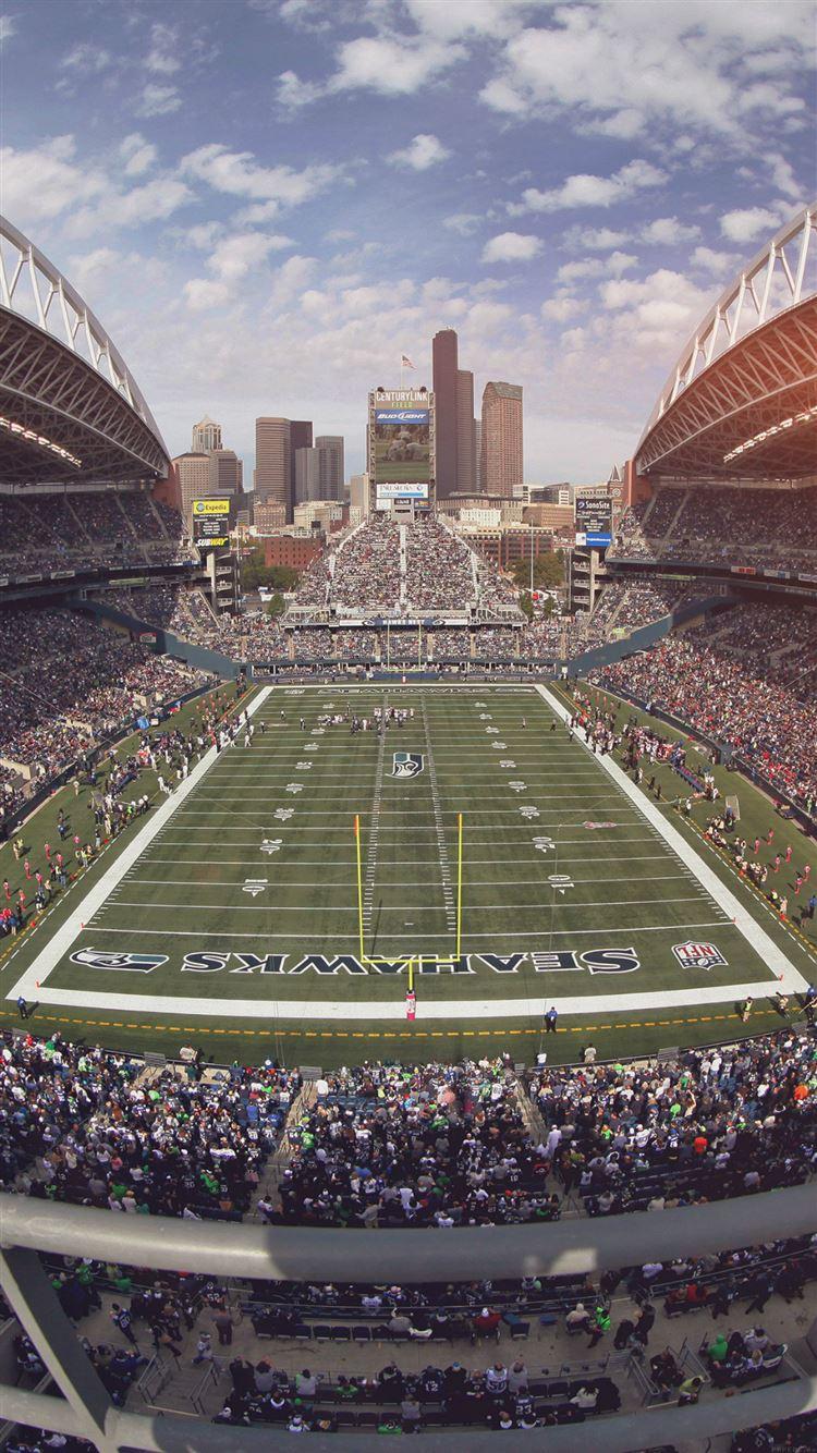 Seahawks Seattle Sports Stadium Football iPhone 8 wallpaper