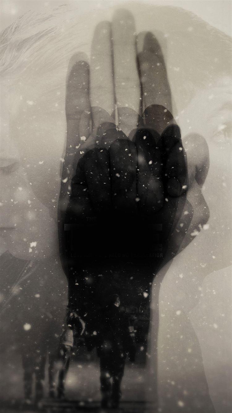 The Trive Poster Hand Art Film iPhone 8 wallpaper
