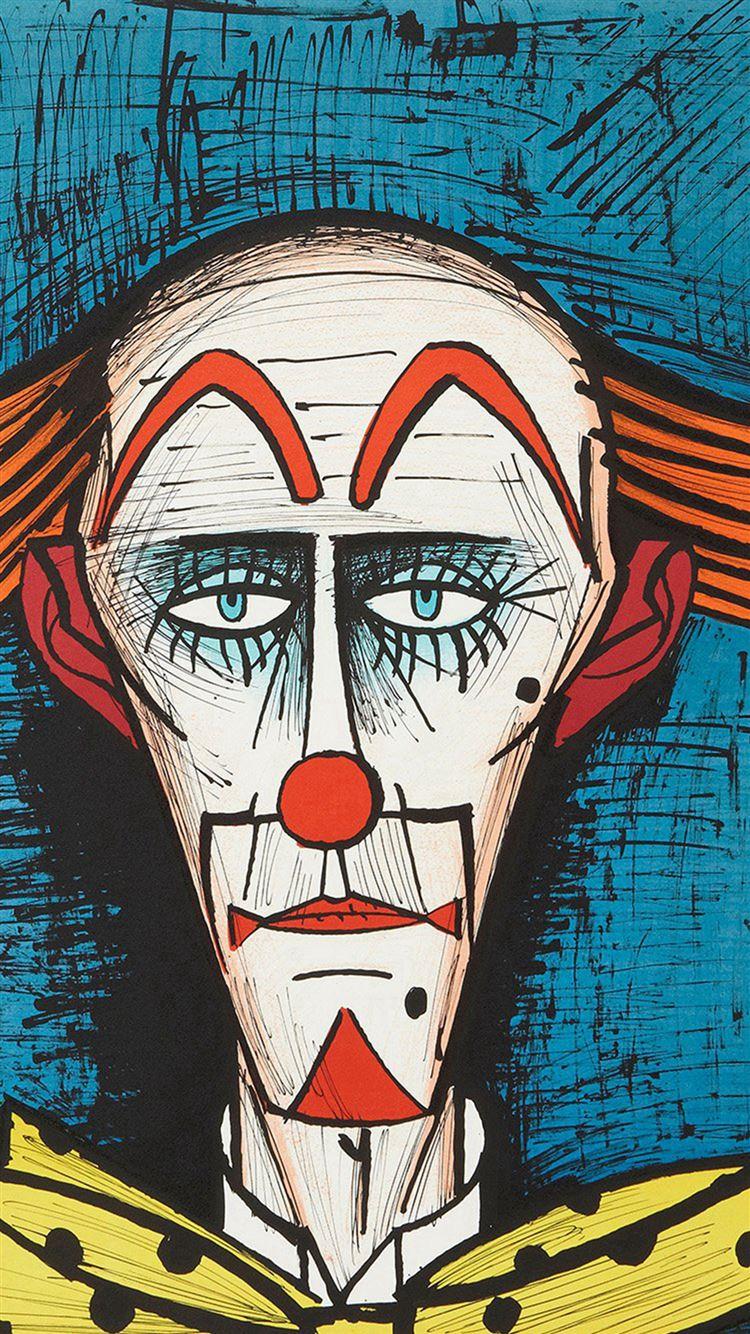 Bernard Buffet Classic Paint Art Illustration IPhone 8 Wallpaper Download