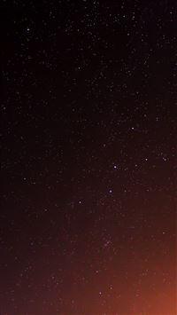 Star Sky Night Space Dark iPhone 6(s)~8(s) wallpaper