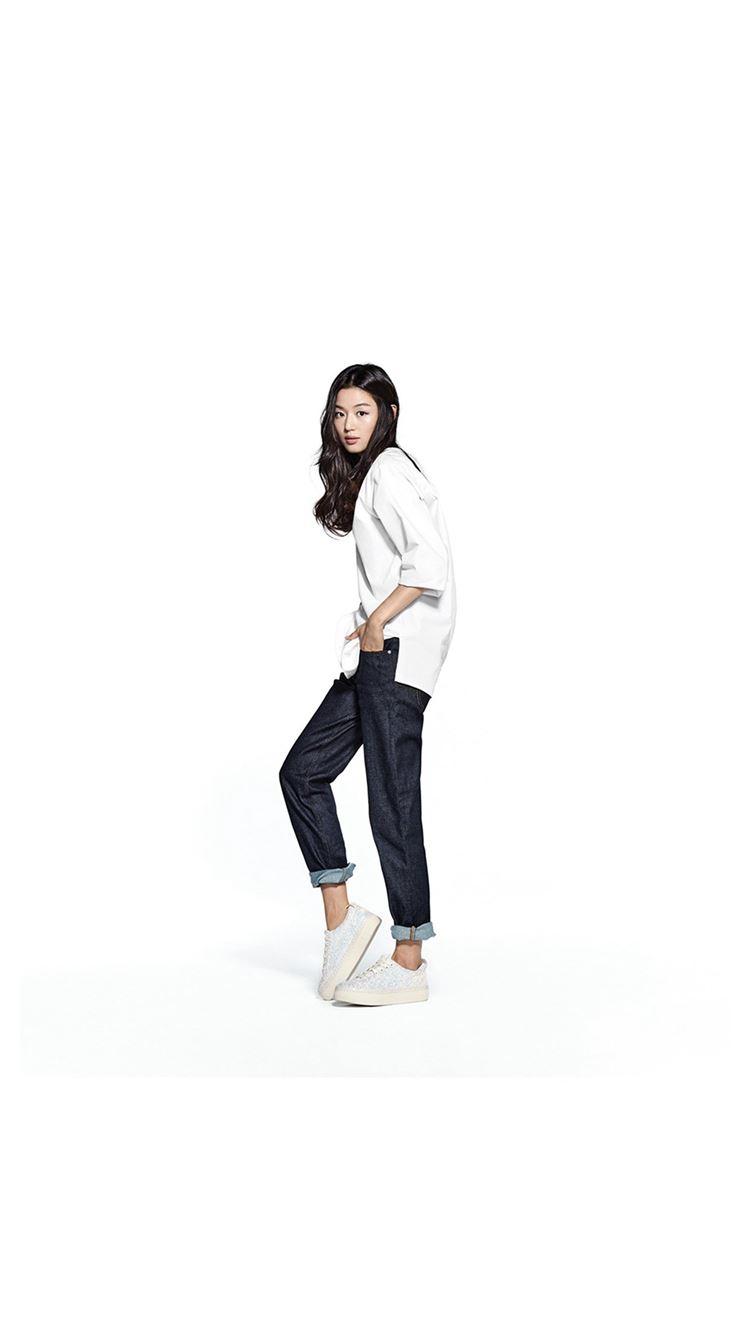 Jihyun Jun Kpop Girl White iPhone 8 wallpaper