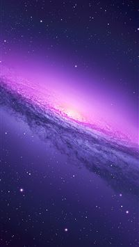 Nature Fantasy Mystery Starry Shiny Nebula Space View iPhone 8 wallpaper