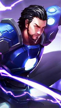 King Glory Cao Cao Game Poster iPhone 8 wallpaper