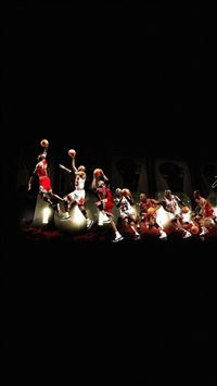 Michael Jordan Dunk Legend NBA iPhone 8 wallpaper