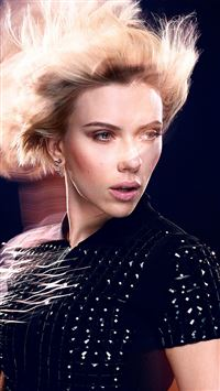Scarlett Johansson Actress Celebrity Model Photoshoot iPhone 8 wallpaper