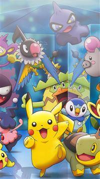 Pokemon Characters iPhone 8 wallpaper